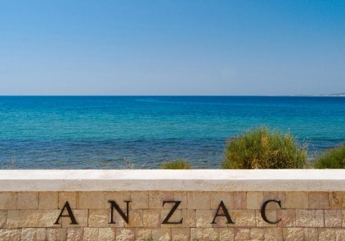 From Anzac Cove to Calvary