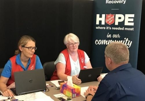 Recovery grants bringing relief to bushfire victims
