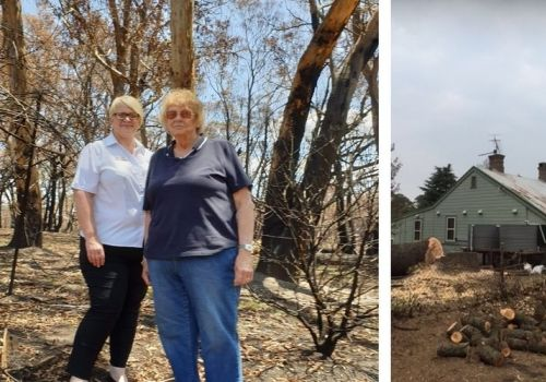 Support from Salvos helps Kaye carry on after bushfire scare