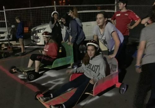 Teenagers put pedal to metal for youth homelessness